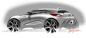 design automobile renault captur concept design sketches car design