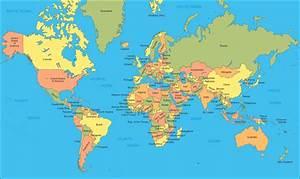 Carte Du Monde Metallique : toutes les cartes des pays du monde page 2 ~ Teatrodelosmanantiales.com Idées de Décoration