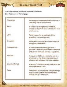 7th Grade Science Worksheets Science Vocab Test 7th Grade Science Worksheets School Of Dragons