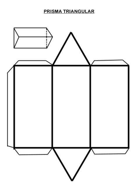 prisma triangular triangular prism teaching geometry geometric shapes