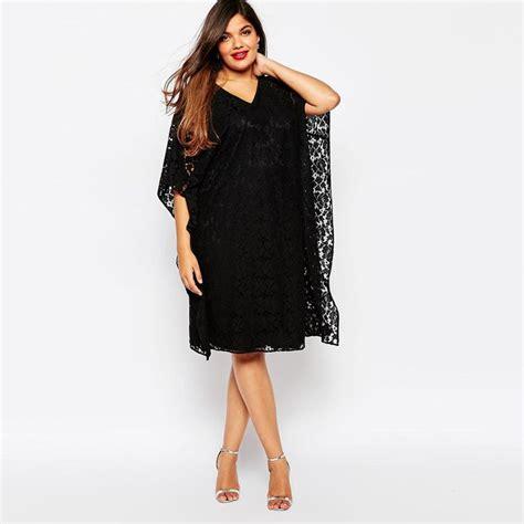 robe d interieur grande taille pas cher 2015 l 233 t 233 plus la taille femmes v 234 tements noir 224 manches courtes l 226 che dentelle robe
