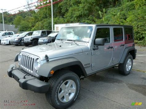 jeep metallic 2014 jeep wrangler unlimited sport 4x4 in billet silver