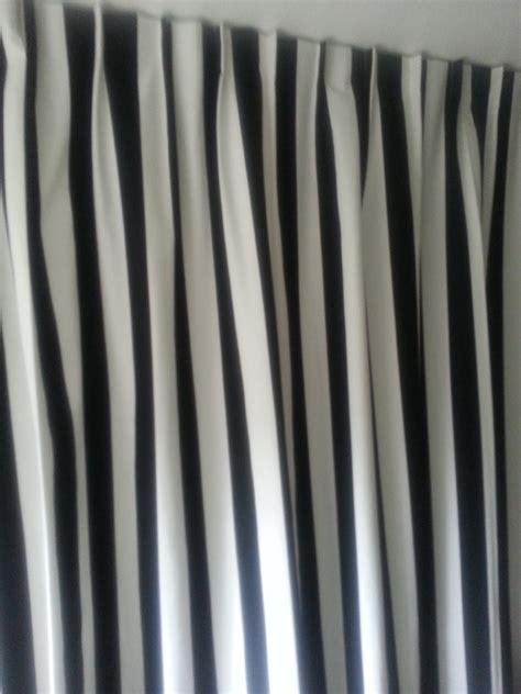 gordijnen kinderkamer zwart wit streep speciale