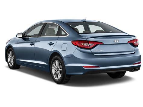 Image: 2017 Hyundai Sonata Eco 1.6L Angular Rear Exterior ...