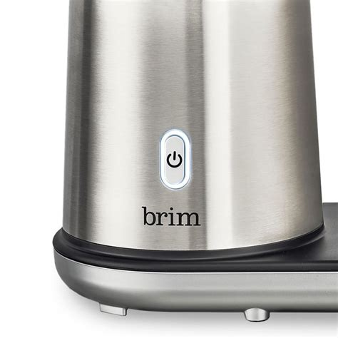 And you want more than a cup at a time. Brim 8-Cup Pour Over Coffee Maker   Williams Sonoma CA