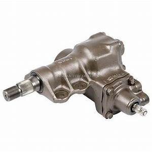 Nissan Frontier Power Steering Gear Box Parts  View Online