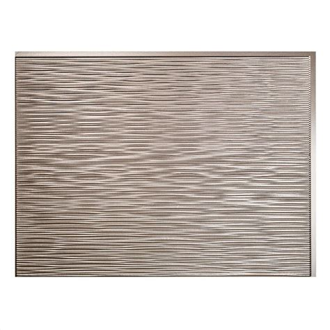 fasade 24 in x 18 in ripple pvc decorative tile