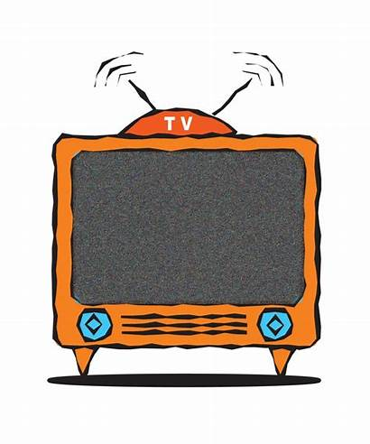Clip Tv Television Clipart Watching Cartoon Cliparts