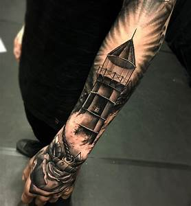 Black And White Half Sleeve Tattoos For Men - AZ Tattoo ...