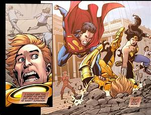 Superman And Wonder Woman VS Galaxor | Comicnewbies