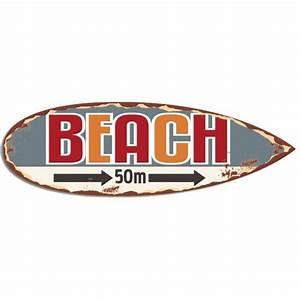 Planche Surf Deco : planche surf beach d co r tro vintage provence ar mes tendance sud ~ Teatrodelosmanantiales.com Idées de Décoration