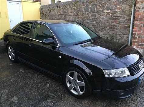 audi a4 b6 felgen audi a4 b6 1 8t quattro black in plymouth gumtree