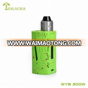 Top Seller    Lightest Box Mod Teslacigs Wye 200w Rda Kit