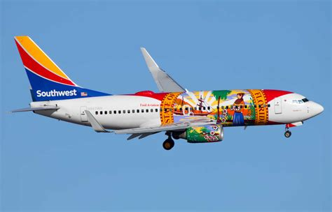 southwest airlines florida one 737 700 features