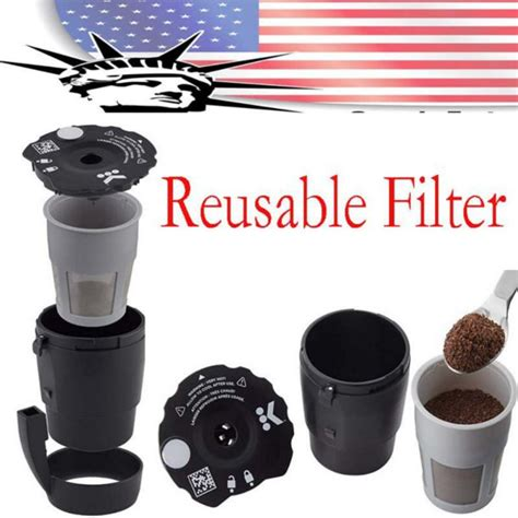 Compatible with k cups and. Universal Reusable K-Cup Pod Coffee Filter, Compatible with All K-Cup Pod Coffee Makers, 1 Count ...