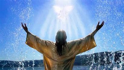 Santo Paloma Espiritu Bautismo Forma Jesus Renungan