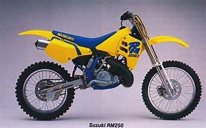 1989 Suzuki Rm250  With Images