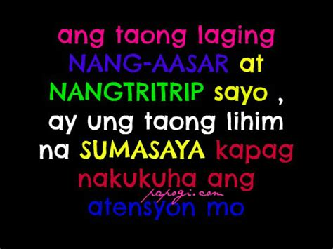 Best Funny Tagalog Quotes Quotesgram. Christmas Quotes Game. Alice In Wonderland Quotes I Have Changed. Song Quotes About Ex Boyfriends. Relationship Quotes For Your Boyfriend. Love Quotes For Him Distance. Good Quotes Vivekananda. Inspirational Quotes Doctor Who. Family Quotes Not Perfect