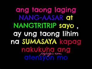 Crush Tagalog Quotes Archives - Papogi a collections of ...