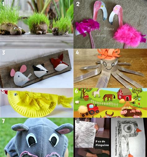 learn  play  home animal activities  crafts