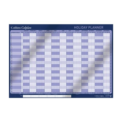 collins holiday planner cwc