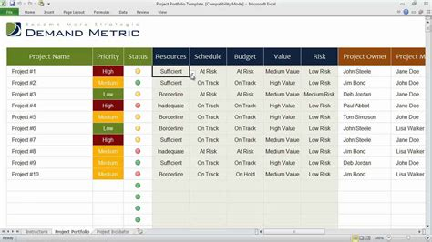 free task management templates task management excel template free and project