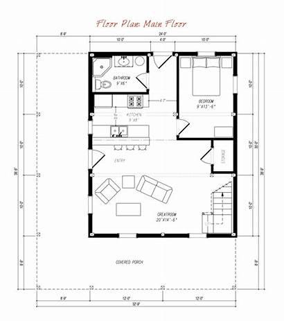 Barn Barndominium Plans Floor Homes Plan Ponderosa
