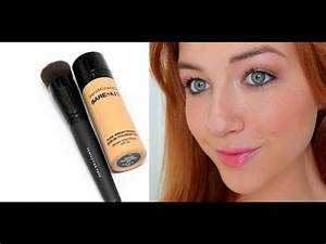 NEW Bare Minerals Bare Skin Serum Foundation Demo/Thoughts ...