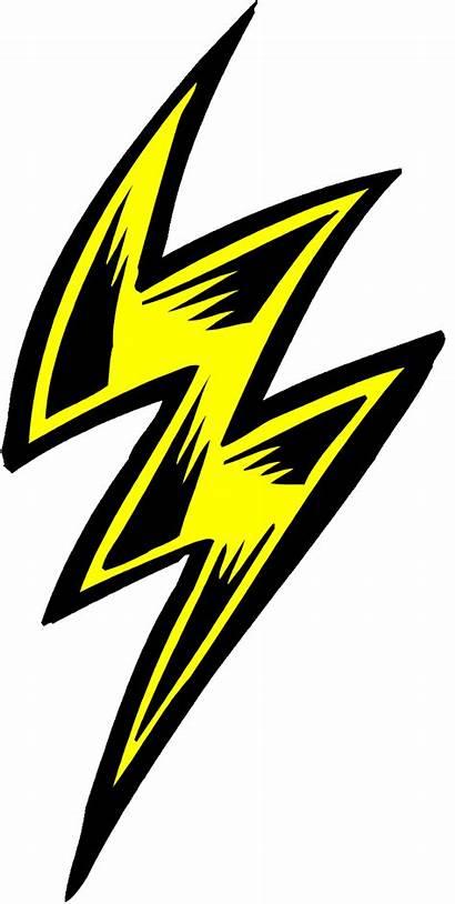 Clipart Lightning Bolt Transparent Comic Cloud Webstockreview