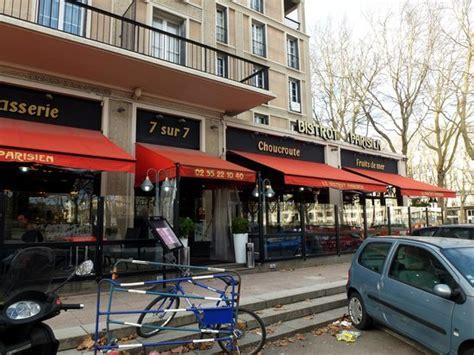 cuisine le havre le bistrot parisien le havre 39 place de l 39 hotel de vl