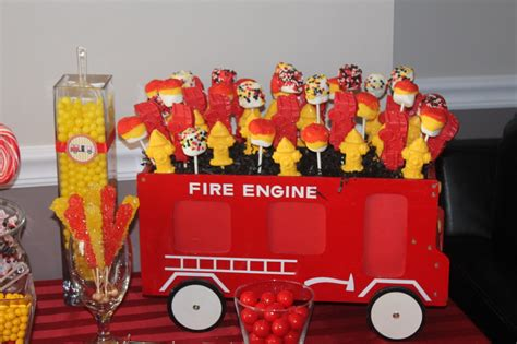 project decoration birthday decorations vincent 39 s firefighter party project nursery