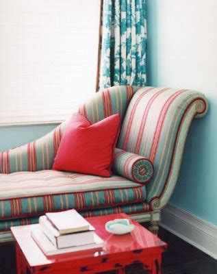 turquoise red  decorologist