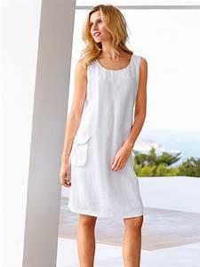 robe lin blanc With robe en lin blanc