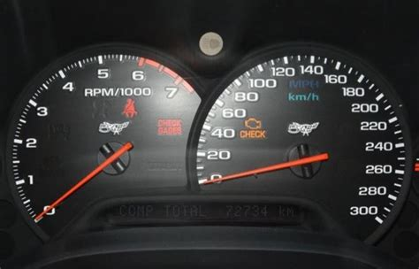 What Is 300 Km In Mph by C5 Wtb 300 Mph Cluster Corvette International