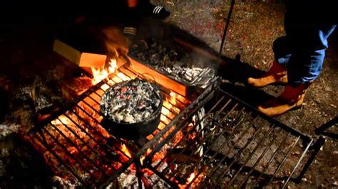 camp fire cooking shutup im gonna teach