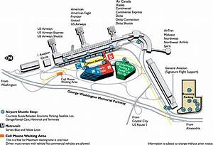 Reagan National Airport Dca Map