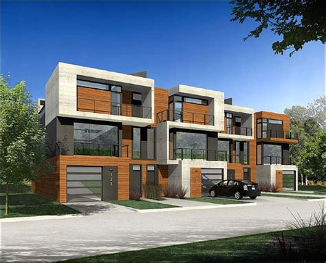 photos and inspiration modern row house plans modern row house design studio design gallery best