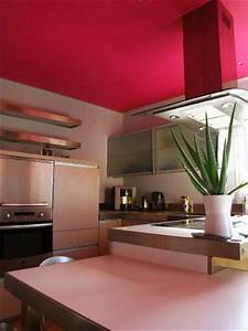 de la couleur sur les plafonds floriane lemarie With plafond peint en couleur