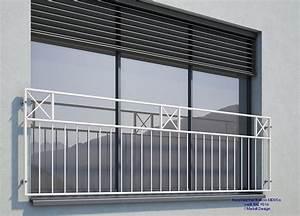 Französischer Balkon Pulverbeschichtet : franz sischer balkon md05ap pulverbeschichtet wei ral9016 schweiz ~ Orissabook.com Haus und Dekorationen