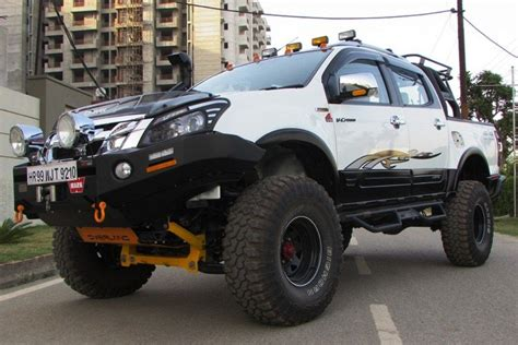 Isuzu D Max Modification by Isuzu D Max V Cross 4x4 Modified Truck By Azad4x4