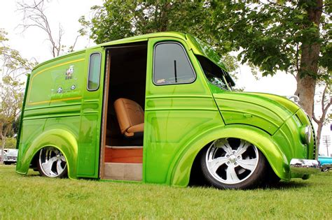 wild custom divco delivery van interesting and or