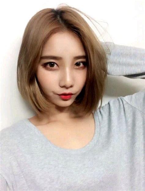 20 inspirations of short korean hairstyles for girls
