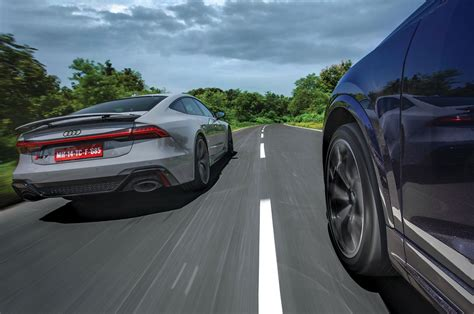 Audi RS7 and RS Q8 review on Indian roads - Feature ...