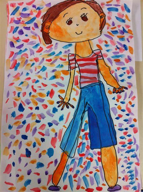 apex elementary art  grade  portraits