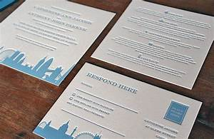 london theme wedding invitations images frompo 1 With letterpress wedding invitations london