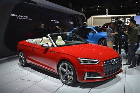 audi convertible 2018 audi s5 cabriolet has one of the best interiors in