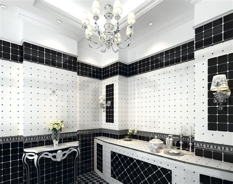 White Bathroom Tile Designs by 10 Best Black And White Tile Design Ideas Projects And