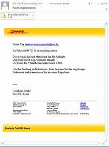 Dhl Service Hotline Telefon : e mail betrug ~ Watch28wear.com Haus und Dekorationen
