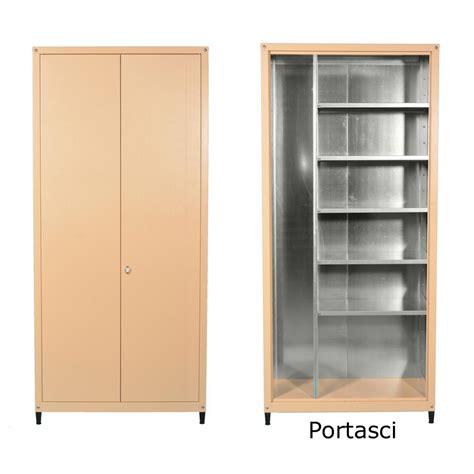 mobile metallo armadio esterno zincoplastificato h 220 x l 100