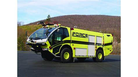 FORCE Series ARFF Vehicles | AviationPros.com